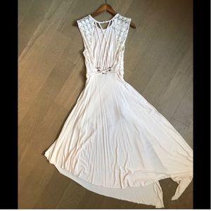 Free People Braid Back Maxi Dress